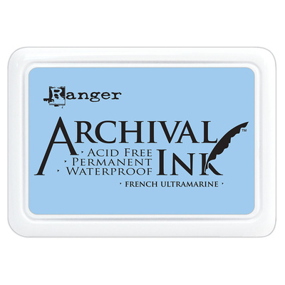 Archival Ink Pad - French Ultramarine