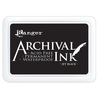Archival Ink Pad - Jet Black