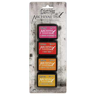 Archival Distress Ink Pads Mini - Kit 1
