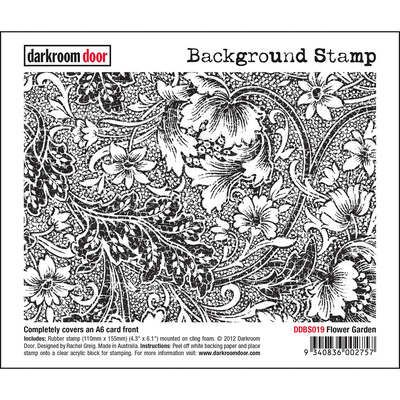 Background Stamp - Flower Garden