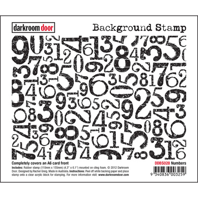 Background Stamp - Numbers