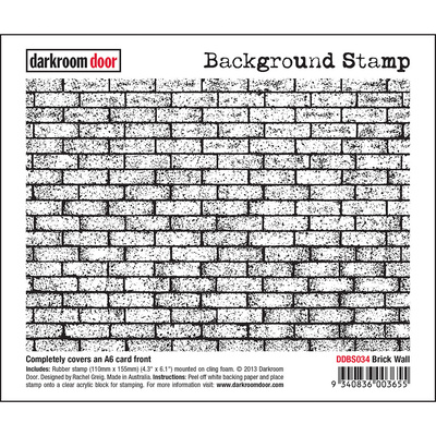 Background Stamp - Brick Wall