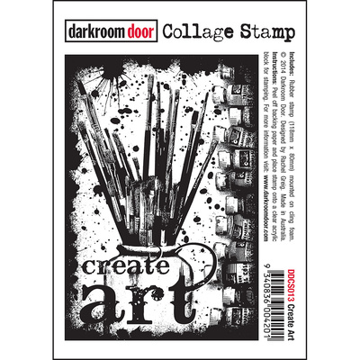 Collage Stamp - Create Art