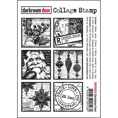Collage Stamp - Christmas Post