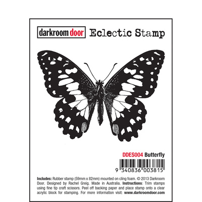 Eclectic Stamp - Butterfly