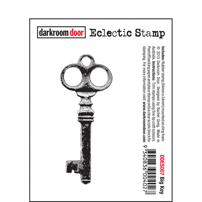 Eclectic Stamp - Big Key