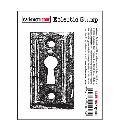 Eclectic Stamp - Keyhole
