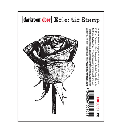 Eclectic Stamp - Rose