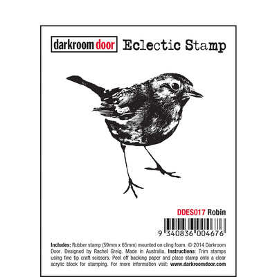 Eclectic Stamp - Robin