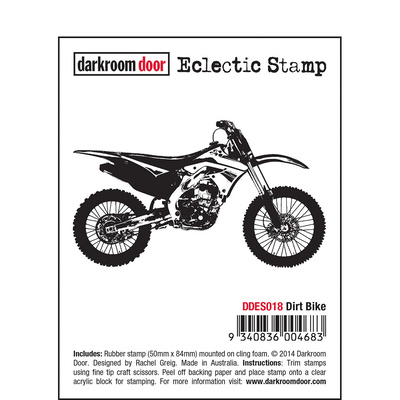 Eclectic Stamp - Dirt Bike