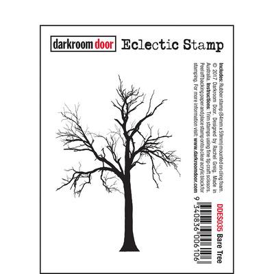 Eclectic Stamp - Bare Tree