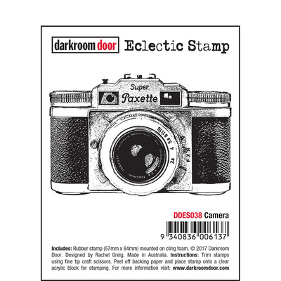 Eclectic Stamp - Camera