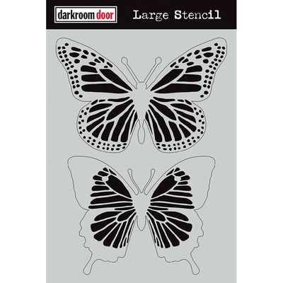 Large Stencil - Butterflies