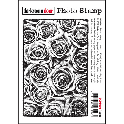 Photo Stamp - Roses