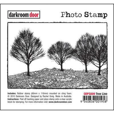 Photo Stamp - Tree Line