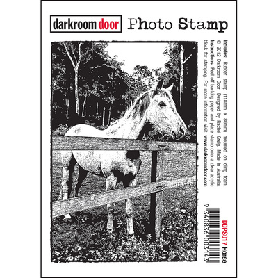 Photo Stamp - Horse