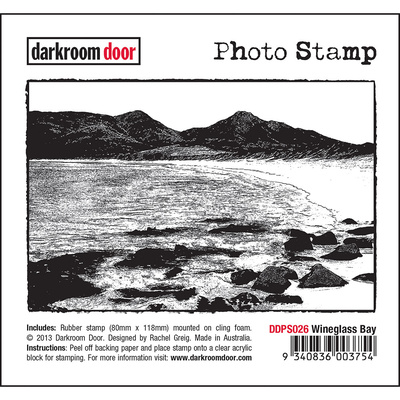 Photo Stamp - Wineglass Bay