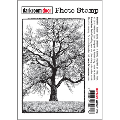 Photo Stamp - Winter Tree