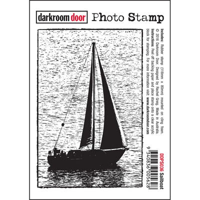 Photo Stamp - Sailboat