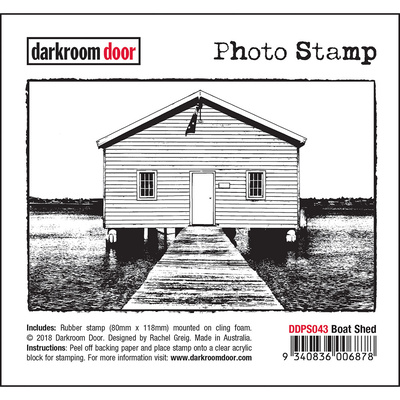 Photo Stamp - Boat Shed