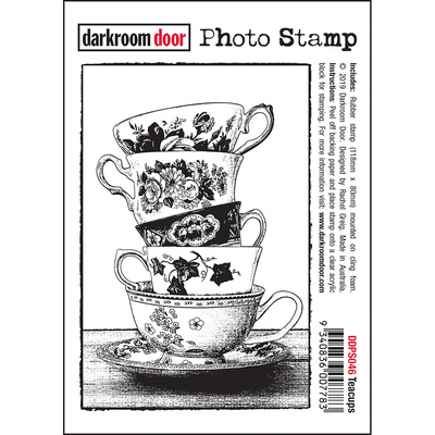 Photo Stamp - Teacups