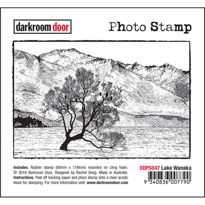 Photo Stamp - Lake Wanaka
