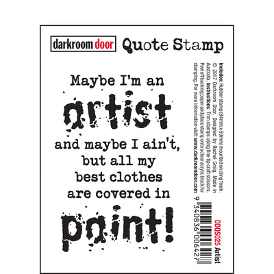 Quote Stamp - Artist