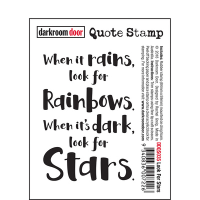 Quote Stamp - Look For Stars