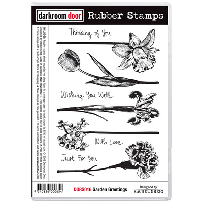 Rubber Stamp Set - Garden Greetings