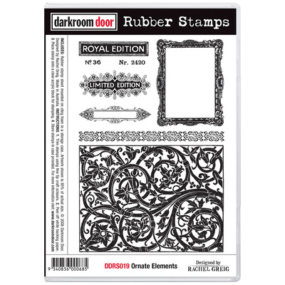 Rubber Stamp Set - Ornate Elements