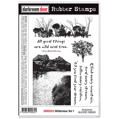 Rubber Stamp Set - Wilderness Vol 1