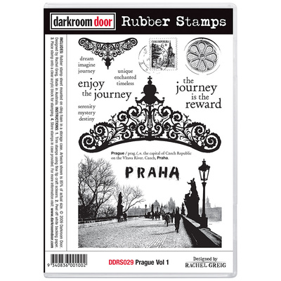 Rubber Stamp Set - Prague Vol 1
