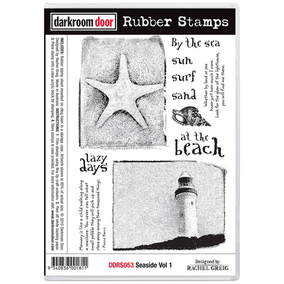 Rubber Stamp Set - Seaside Vol 1