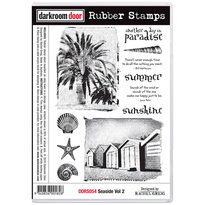 Rubber Stamp Set - Seaside Vol 2