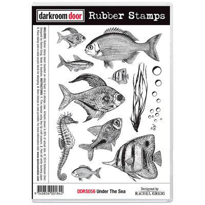 Rubber Stamp Set - Under the Sea