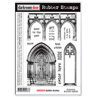 Rubber Stamp Set - Gothic Arches