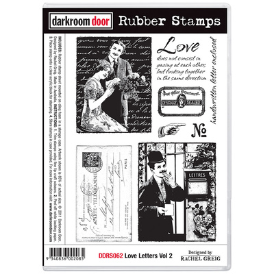 Rubber Stamp Set - Love Letters Vol 2