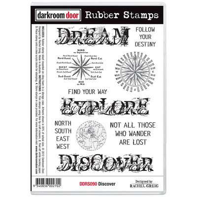 Rubber Stamp Set - Discover