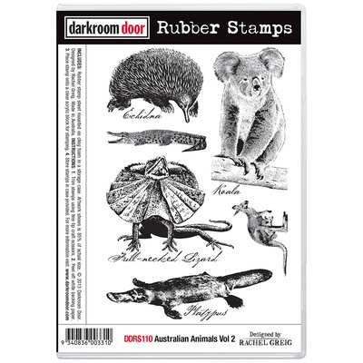 Rubber Stamp Set - Australian Animals Vol 2