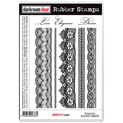 Rubber Stamp Set - Lace