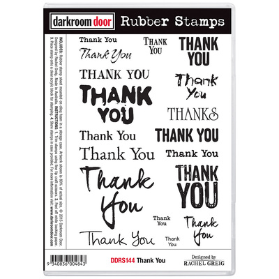 Rubber Stamp Set - Thank You