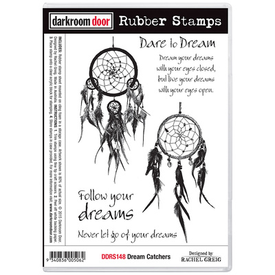 Rubber Stamp Set - Dream Catchers