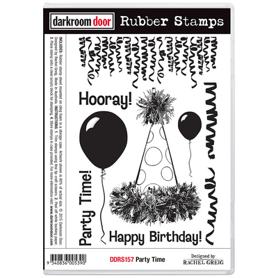 Rubber Stamp Set - Party Time