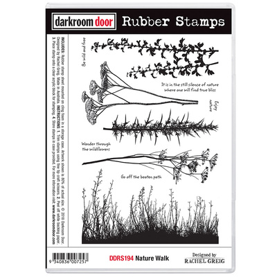 Rubber Stamp Set - Nature Walk