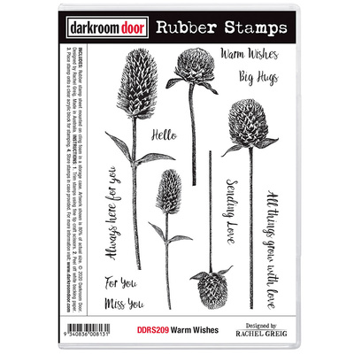 Rubber Stamp Set - Warm Wishes