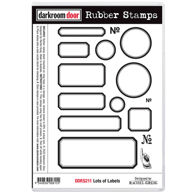 Rubber Stamp Set - Lots of Labels