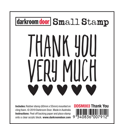 Small Stamp - Thank You