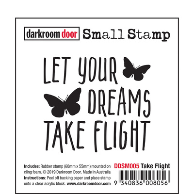 Small Stamp - Take Flight