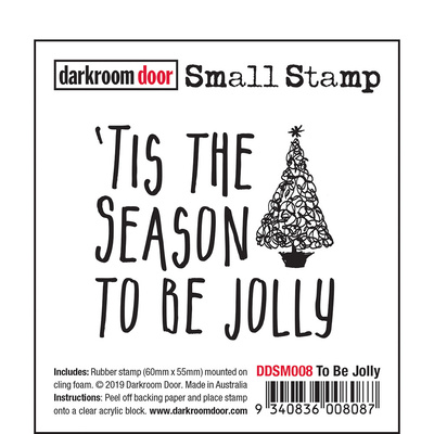 Small Stamp - To Be Jolly