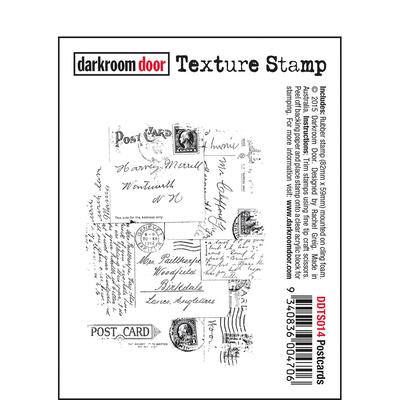 Texture Stamp - Postcards